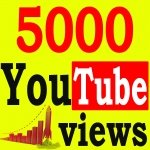 Fast 5000+ High Retention 90 To 100 percent YouTube Views