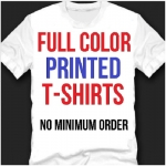 Custom Printed Direct To Garment T-Shirt