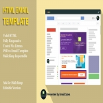 Create responsive html email template