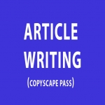 Write Two 500 Word ARTICLES