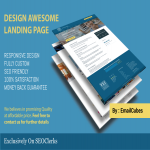 design awesome landing page