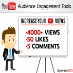 4000+ YouTube views with 50+ likes & 5 custom comments