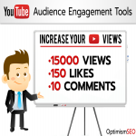15000 YouTube views approx with 150+ likes & 10 real custom comments