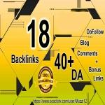 18 DoFollow Blog Comments HIGH DA 40+