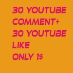 I provide 25 + YouTube custom comment +25 like +25 Subscri. In your YouTube video increse video ratings