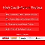 10 Unique Forum Posting
