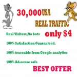 30,000 HUMAN TRAFFIC BY &nbsp Google, Twitter, Youtube and any more to web site