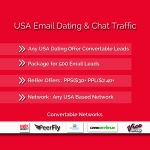 500 USA Unique Email Traffic For CPA Network