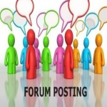 Write 20 new posts and comments for your Forum