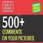 Instant Start 500+ HQ Comments NON DROP