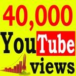 Fast 40,000+ High Retention 90 To 100 Percent Non Drop Vi ews