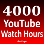 4000+ Watch Hours Time & Views To Your Video Or Channel - Safe & High Quality