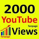 Fast 2000+ High Retention 90 To 100 Percent Non Drop Guarantee Vi ews