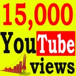 Fast 15,000+ High Retention 90 To 100 percent YouTube Views