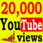 Fast 20,000+ High Retention 90 To 100 percent YouTube Views