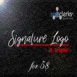 Design 2 Premium Signature logo with in 24 hours