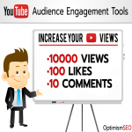 10000+ YouTube views with 100 likes & 10 custom comments