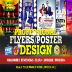 Awesome Flyer/Poster Design for your Business