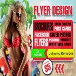 Do Any Flyer, Poster Design within 2 days