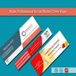 Unique Social Media Cover Page