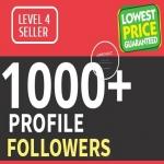 Add 1000 Fast HQ Profile Followers