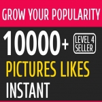 Fast 10000+ Likes Real to Your PHOTO OR VIDEO