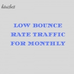 Drive Low Bounce Rate Traffic For 30 Days