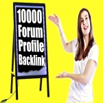 Do 10000 Forum Profiles Backlinks