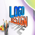 Modern Flat Signature 3D Watercolor Mascot Hand-Drawn Vintage Logo Design