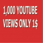 I provide 1,000+ HR YouTube Vi-ews Non Drop Refill Guaranteed and very fast just