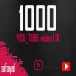 1000 LIK Youtube video promoting start and completed fast