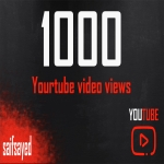 1000 vi -w Youtube video promoting start and completed fast