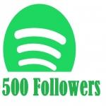500 Spotify Followers High Quality