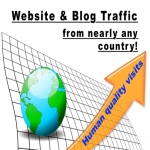 Send Human Visits,  Traffic From Nearly Any Country