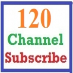 120 YouTube channel subscriber-s OR 400+ YouTube Like-s non-drop & super fast delivery