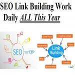 SEO Link Building Daily All the YEAR 365 Days work