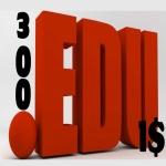 300+. edu Backlinks Provide now