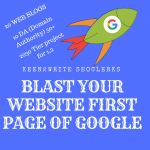 Shoot your website to Googles First Page With BONUS 2000 Wiki Backlinks