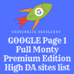 Google Page 1 High DA Sites With Bonus Wiki Backlinks