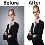 do photoshop remove background,  retouching,  editing