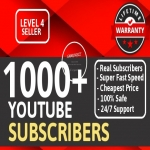 Add Real 1000+ High Quality YouTube Subscribers NON DROP LIFETIME GUARANTEE With Extra Bonus