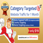 Real Human Niche TARGETED Website TRAFFIC