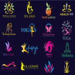 Design Modern Natural Spa Yoga Beauty Wellness Logo