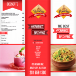 Creative Restaurant Menu and Banner Premium Quality Design