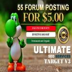 I Will Do 55 Niche Relevant Forum Posting For 5 dolar