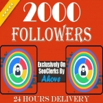 Get Instant 2000 Followers