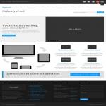 Create a landing page design