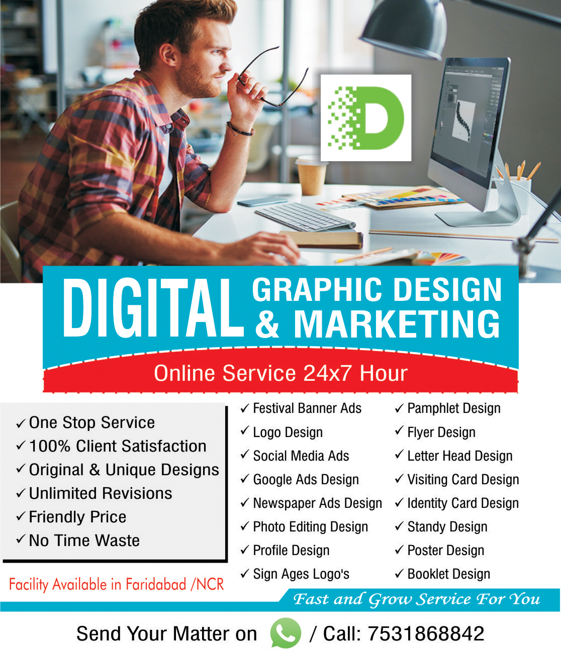ONLINE DIGITAL GRAPHIC DESIGN AND MARKETING